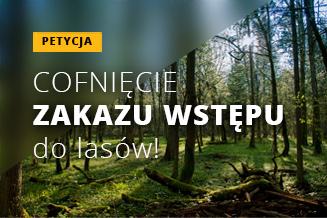 Petycja Zakaz wstępu do lasu